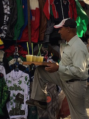 What's so scary about a man selling Guarapo?